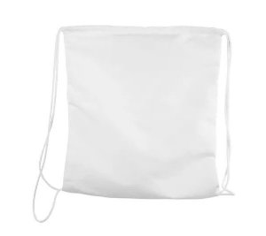 Saco mochila 35x35 branco