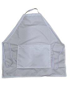 Avental Infantil Branco c/ bolso