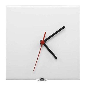 Azulejo relógio 15x15 resinado