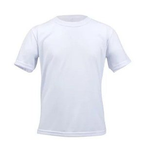 Camiseta poliéster infantil tam 14