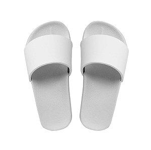 Chinelo slide branco 38/39