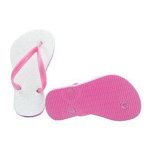 Chinelo pink infantil 25/26