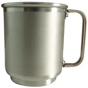 Caneca Alumínio Tarja 400ml