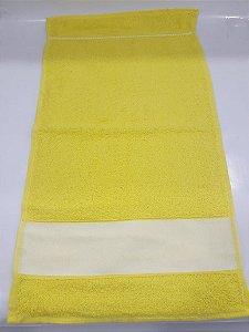 Toalha lavabinho engotex - amarelo cítrico