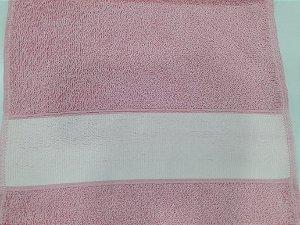 Toalha lavabinho engotex - rosa claro