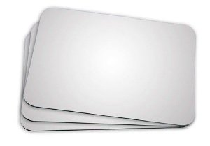 Mouse Pad - LATEX retangular grande 19X23 3mm