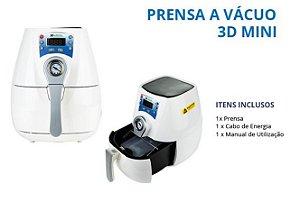 prensa vacuo  3D mini - branco - 110v