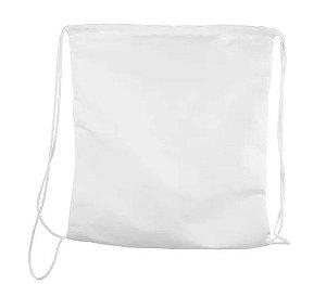 Saco mochila 40x40 branco