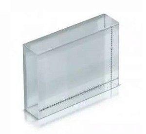 Porta retrato de vidro para sublimação quadrado