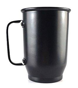 Caneca Alumínio preta 500ml