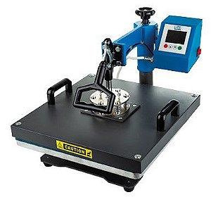 Prensa manual giro plana 38x38 -220v