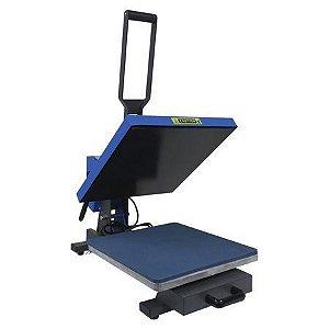 prensa automatica plana com gaveta 38x38 - 220v