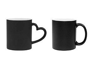 Caneca de ceramica / porcelana para sublimação - Magica Fosca