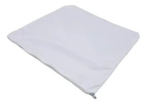 Capa de almofada branca - Diversas medidas
