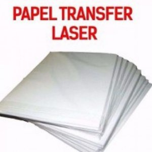 Papel transfer laser pacote c/100 fls