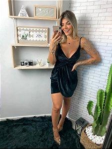 Vestido veludo