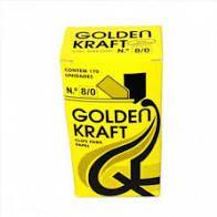 Clips 8/0 C/ 170 Unidades Galvanizados - Golden Kraft