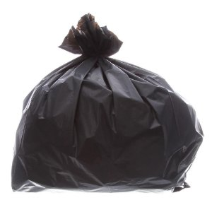 Saco de Lixo 100L Preto Reforçado - Pacote com 5Kg