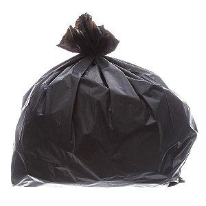 Saco de Lixo 60L Preto Reforçado