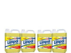 Detergente Limpol Neutro 5L Caixa com 4 unidades