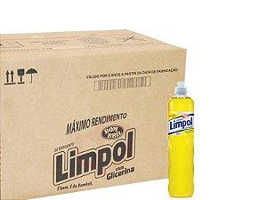 Detergente Limpol Neutro 500ml Caixa com 24 unidades