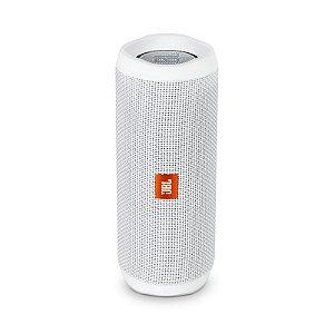 Caixa de Som Bluetooth JBL Flip 4 16W RMS À Prova D'água Branco