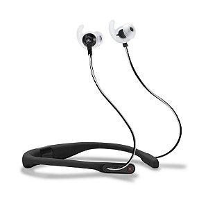Fone de Ouvido Esportivo JBL Reflect Fit Bluetooth Monitoramento Cardíaco Preto