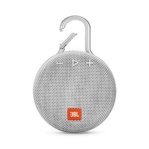 Caixa de Som Bluetooth JBL Clip 3 À Prova D'água Branco