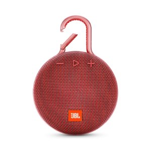 Caixa de Som Bluetooth JBL Clip 3 À Prova D'água Vermelho