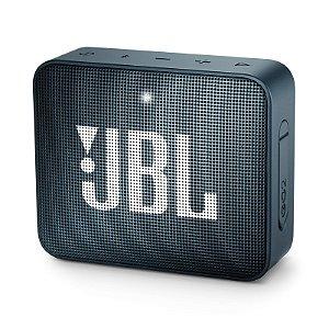 Caixa de Som Bluetooth JBL Go 2 À Prova D'água Marinho
