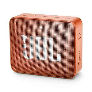 Caixa de Som Bluetooth JBL Go 2 À Prova D'água Laranja