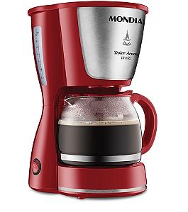 Cafeteira Elétrica Mondial Dolce Arome 18 Xícaras C-35 Vermelha 127V