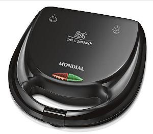 Sanduicheira Mondial Fast Grill e Sandwich S-12 110V