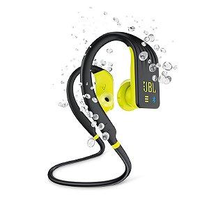 Fone de Ouvido Esportivo JBL Endurance Dive À Prova D'água Bluetooth Preto e Amarelo