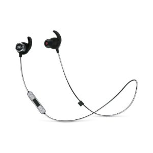 Fone de Ouvido Esportivo JBL Reflect Mini 2 In-Ear Bluetooth Preto