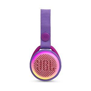 Caixa de Som Bluetooth JBL JR Pop 3W RMS À Prova D'água Púrpura