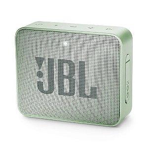 Caixa de Som Bluetooth JBL Go 2 À Prova D'água Mint