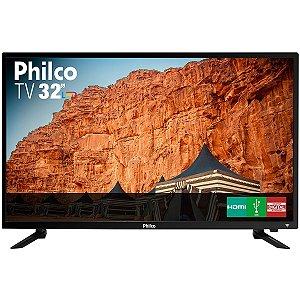 "TV LED 32"" HD Philco PTV32C30D 2 HDMI 1 USB"