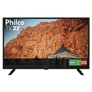 "TV LED 32"" HD Philco PTV32G50D 2 HDMI 1 USB"