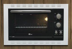 Forno Elétrico de Embutir Fischer Fit Line 44 Litros Branco 127V