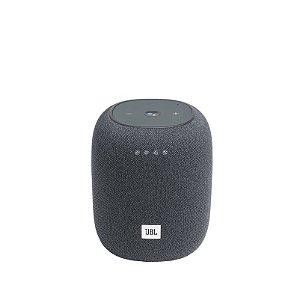 Caixa de Som Bluetooth JBL Link Music 20 RMS Assistente de Voz À Prova D'água Cinza