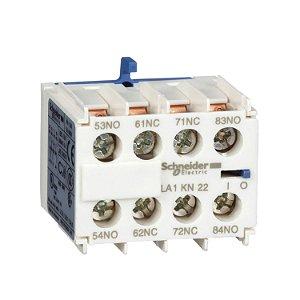 Contato Auxiliar Instantâneo 2NA+2NF Contator Tesys K - LA1KN22 Schneider Electric
