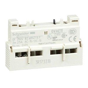 Contato Auxiliar Instantâneo Frontal 1NA+1NF Tesys GV2-GV3 - GVAE11 Schneider Electric