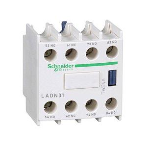 Contato Auxiliar Instantâneo Frontal 4NA Contator - LADN40 Schneider Electric