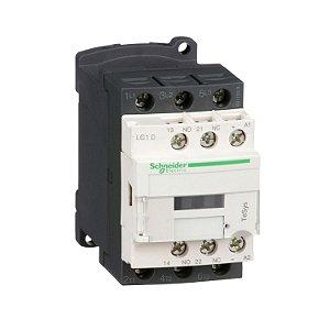 Contator Tripolar 18A 1NA+1NF 24VCC - LC1D18BD Schneider Electric