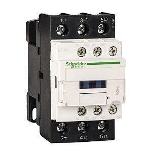 Contator Tripolar 25A 1NA+1NF 220VCA -  LC1D25M7 Schneider Electric
