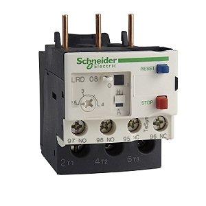 Rele Térmico Tesys D Classe 10 7-10A 1NA+1NF - LRD14 Schneider Electric