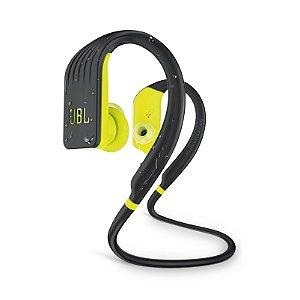 Fone de Ouvido Esportivo JBL Endurance Jump À Prova D'água Bluetooth Preto e Amarelo