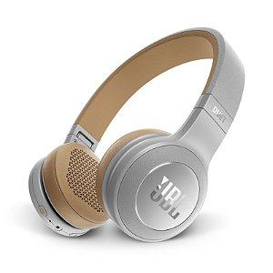 Fone de Ouvido JBL Duet Headphone On-Ear Bluetooth Microfone Cinza