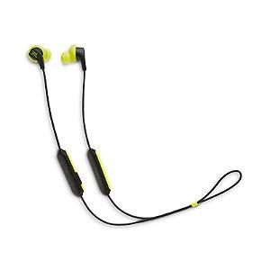 Fone de Ouvido Esportivo JBL Endurance Run BT Bluetooth Microfone Preto e Amarelo